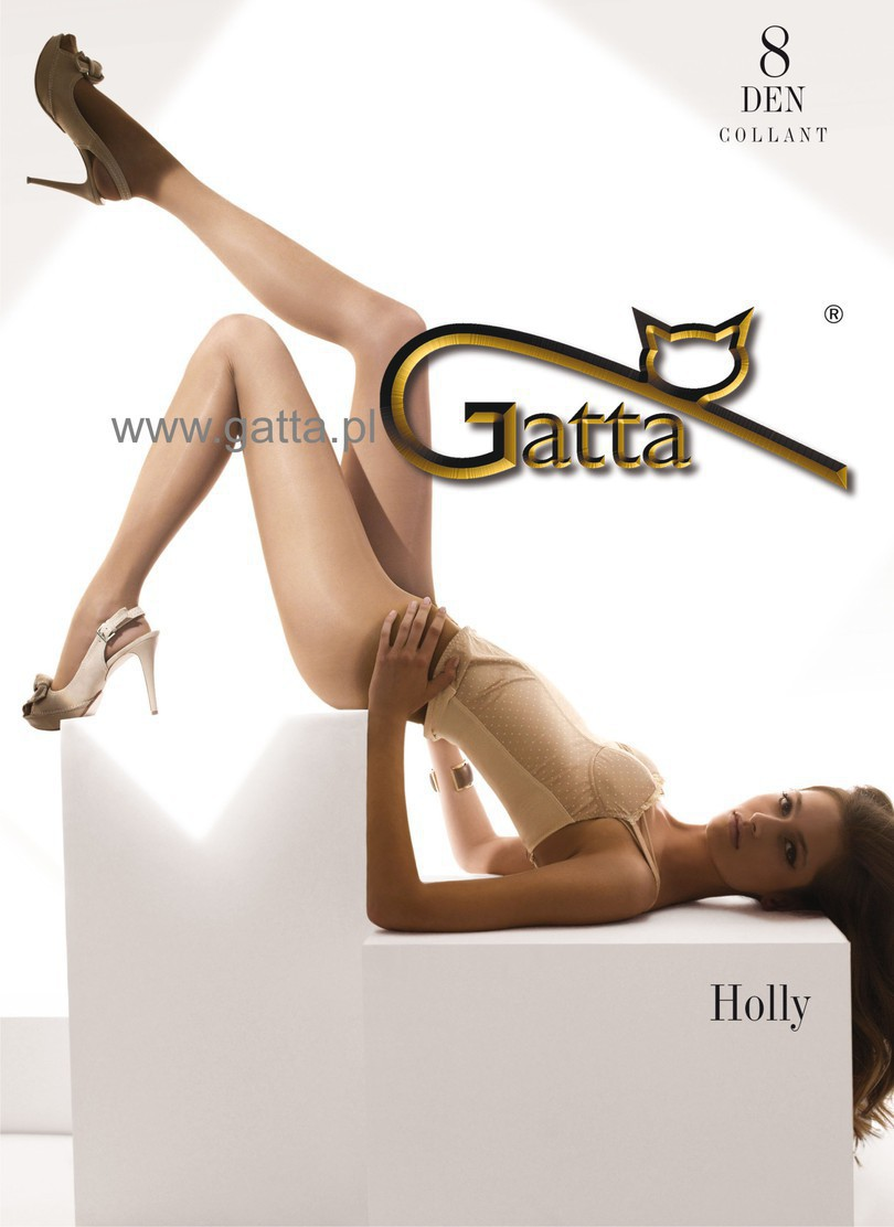 "Gatta ""HOLLY"" 8 Denier , T-band,Sheer To Wais Tights- Classic"