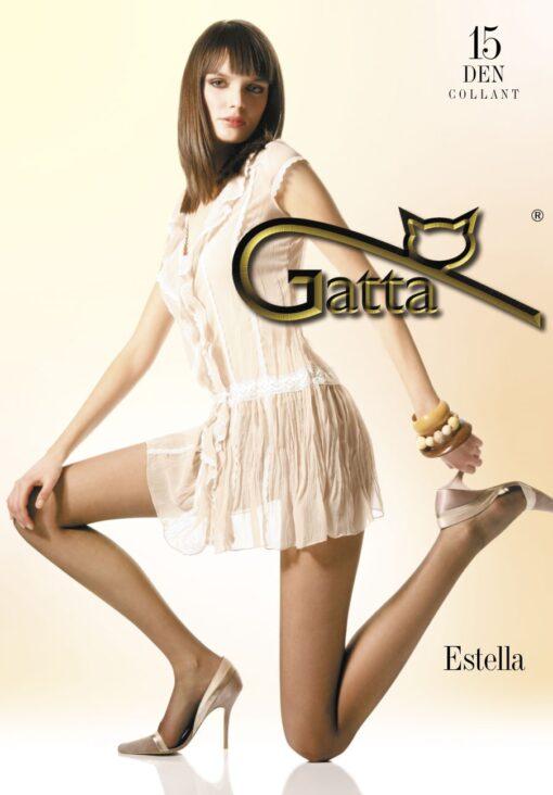 "Gatta ""ESTELLA"" 15 Denier T-Band, Classic Tights ,Semi-Mat"