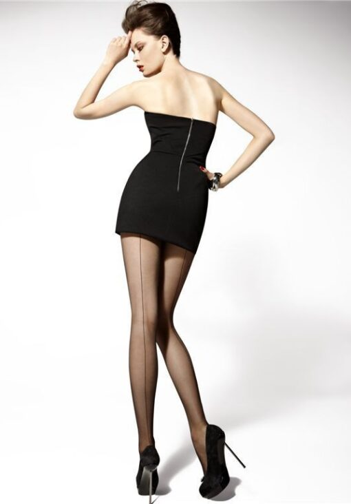 "Sexy Tights Cuban Heel With Back Seam - Gatta ""CHIARA"" 20 Denier"
