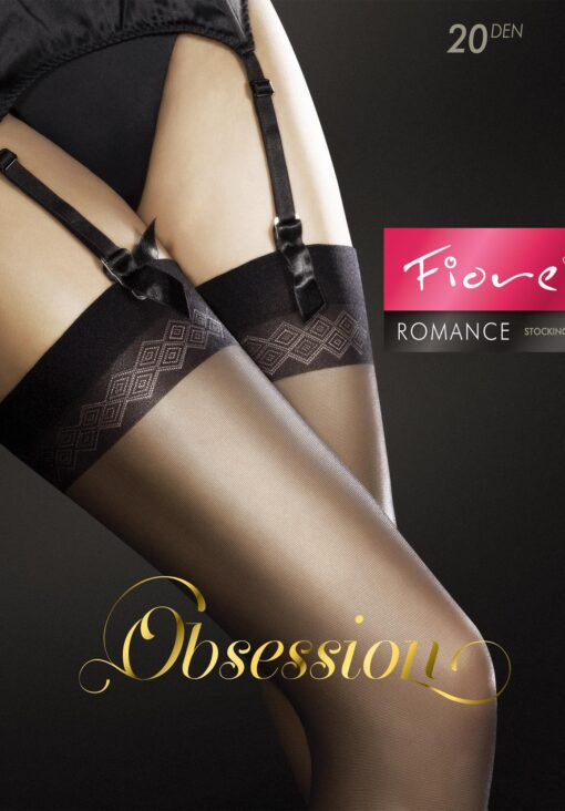 Fiore Romance Sheer Stockings 20 Denier