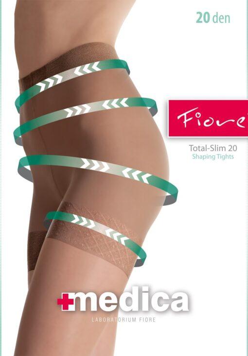 Fiore Total-Slim Tights 20 Denier Tum-Bum-Thigh Shaping