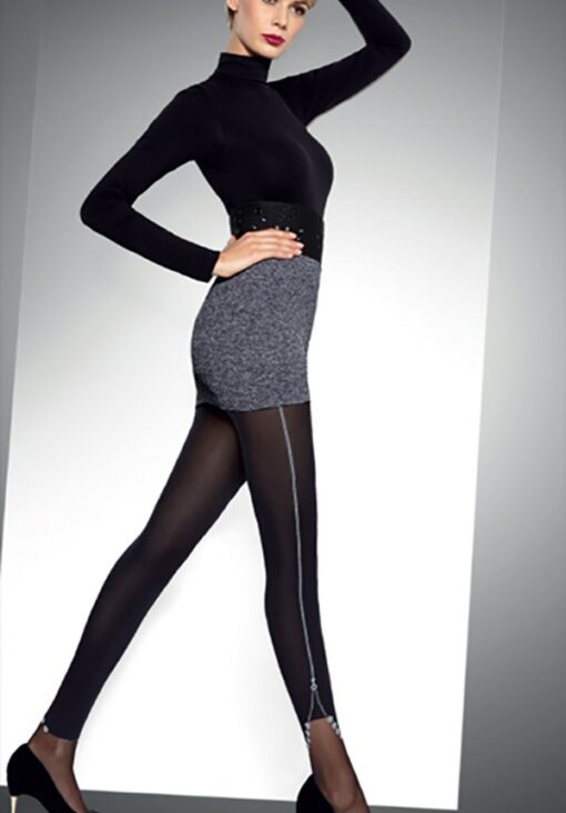 "Fashionable Patterned Tights by Tess- ""SENSO "" - 60 Denier"