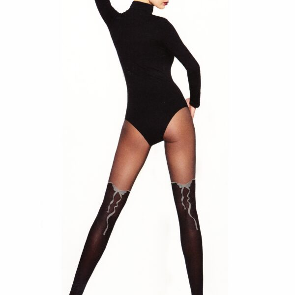 "NEW MOCK SUSPENDER -TIGHTS-TESS-"" AMELIA"" 20/40 Denier- Imitating Hold Ups Style"