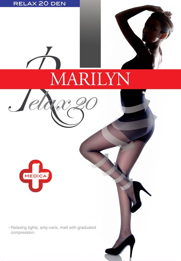 "High Quality Marilyn ""Relax 20"" Medica Anti-Varix Anti-Cellulite Relaxing Tights 20 Denier"