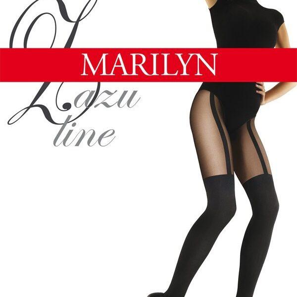 "MOCK SUSPENDER STOCKINGS-TIGHTS-MARILYN "" ZAZU LINE"" 60/20 DENIER"