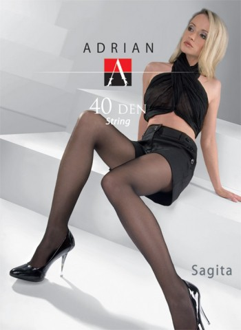 "Exclusive T-Band Tights Adrian ""SAGITTA STRING"" -40 Denier -Size S,M,L,XL"