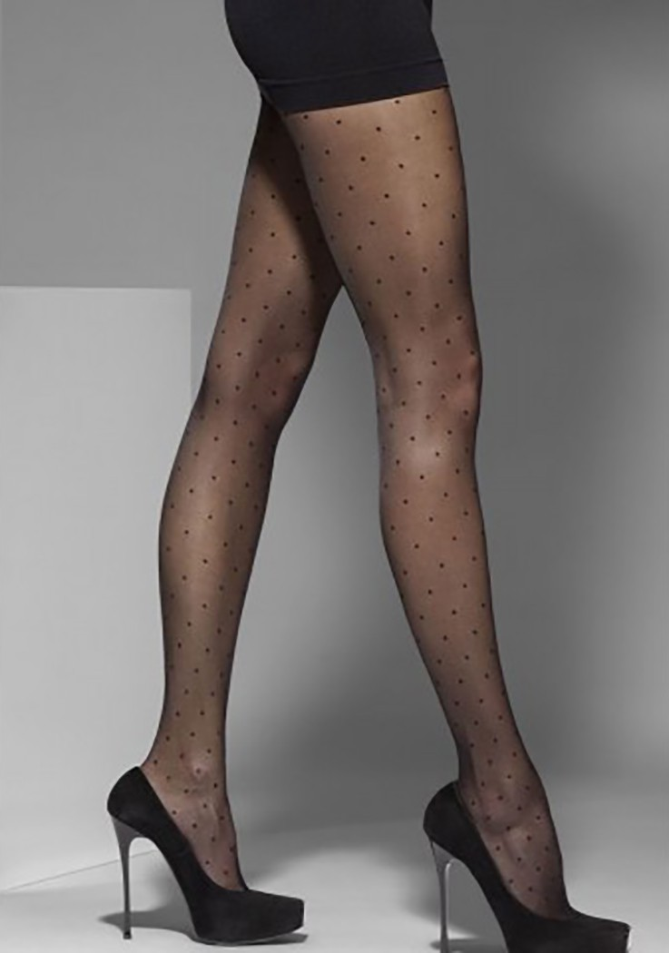 "Sexy Ladies Fashion Design POLKA DOT Pattern Tights By Gajatex ""VESA"""